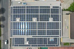 Solaranlage Turnhalle Ried